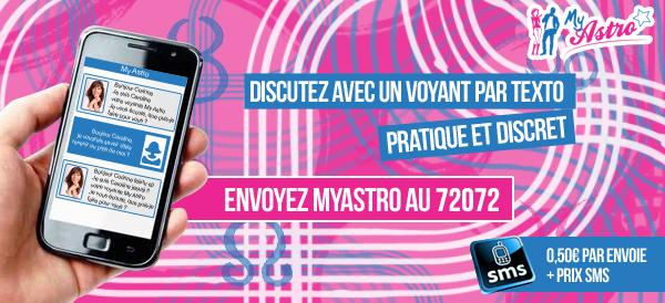 La voyance par SMS avec Myastro